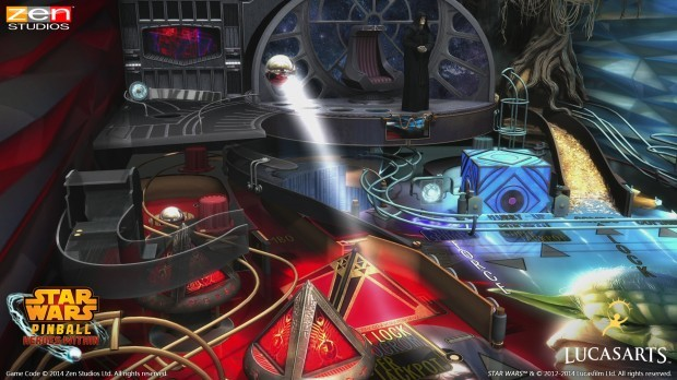 SWPHW Gameplay 1 e1399038543224 Star Wars Pinball: Heroes Within Review