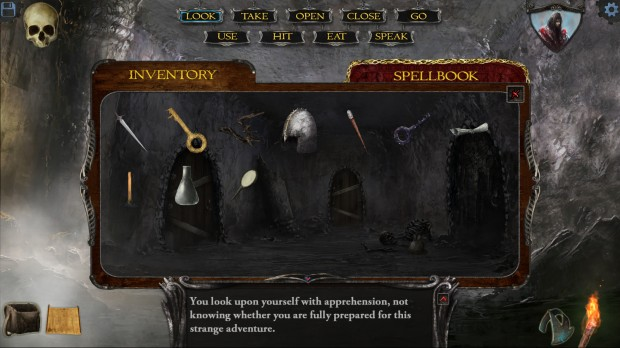 Shadowgate Room 11 inventory 620x348 We dive deep into Shadowgate with Design Director Karl Roelofs