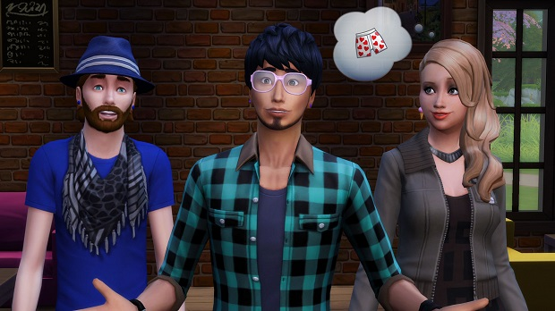 5TS4 E3 Hipsters alt web E3 2014: The Sims 4 Strives to Bring Emotion and Purpose to Your Sims