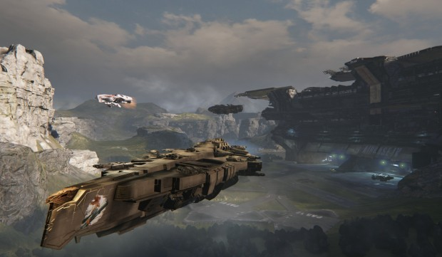 Assault near airbase 620x361 To battlestations!  Hands on with Dreadnought   an incredible new space sim