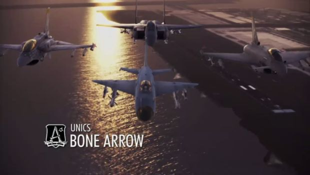 Bone Arrow Squadron resize Out of formation  Ace Combat Infinity review