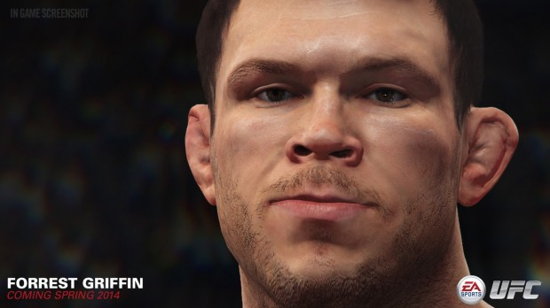 Ea sports ufc forrest griffin 02 620x348 EA Sports UFC: Winner by Split Decision