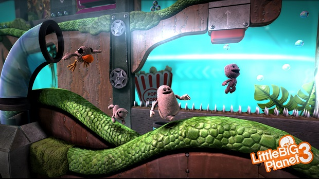 LittleBigPlanet E3screenshots 4 LittleBigPlanet 3 Makes Every Character Matter in Four Player Co op