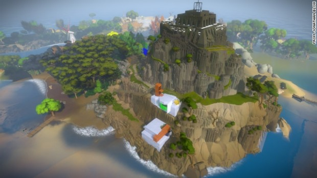 The Witness 01 620x348 The Witness paves a brilliant path for the puzzle exploration genre