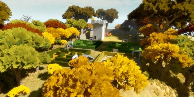 The Witness 03 620x310 The Witness paves a brilliant path for the puzzle exploration genre
