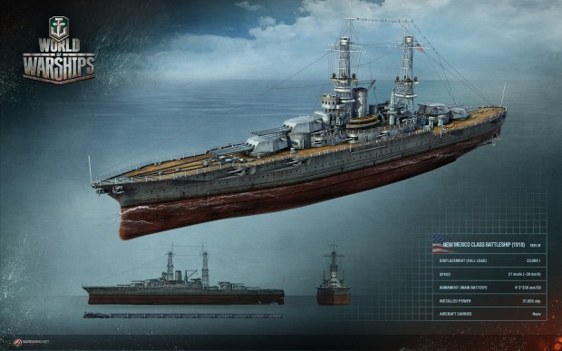 WoWS Renders Vessels USA New Mexico 1920 1200 620x387 All hands on deck!  We check out World of Warships
