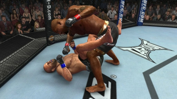 ground and pound EA Sports UFC: Winner by Split Decision