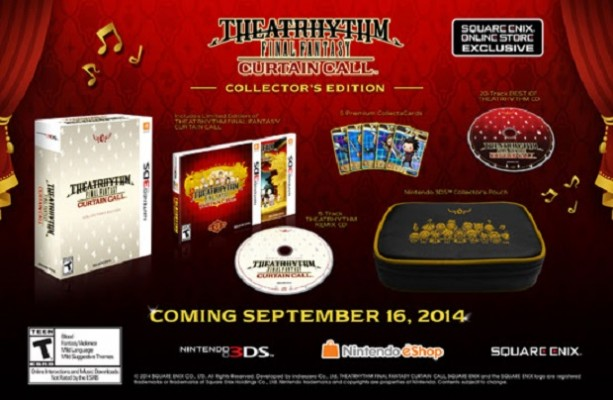 Square-Enix Reveals Theatrhythm Final Fantasy: Curtain Call's Collector's Edition