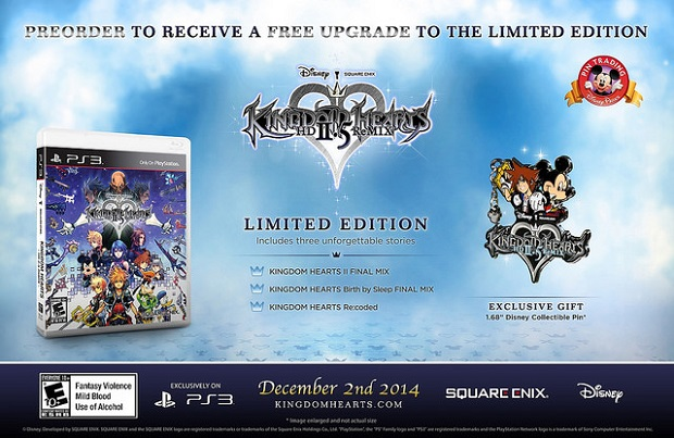 American Kingdom Hearts 2.5 Limited Edition Revealed
