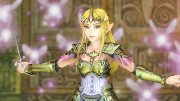 Zelda Wields the Wind Waker in Hyrule Warriors