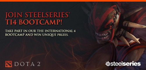 SteelSeries Launching Dota 2 Boot Camp Celebrating TI4