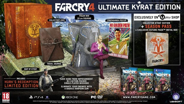 FC4 UltimateKyratEdition UK Ubisoft Reveals Far Cry 4s Special Edition