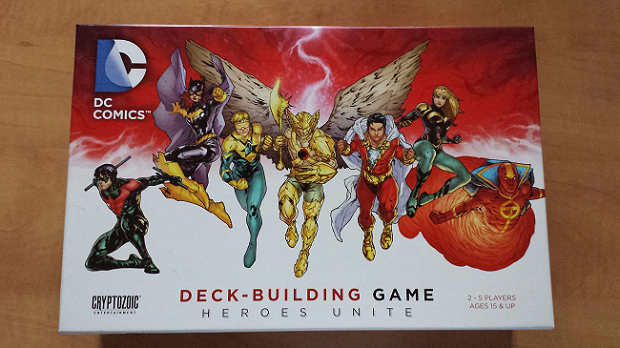 Heroes Unite Cover Resized Whiz! Bam! Pow!    DC Comics Deck Building Game and Heroes Unite review