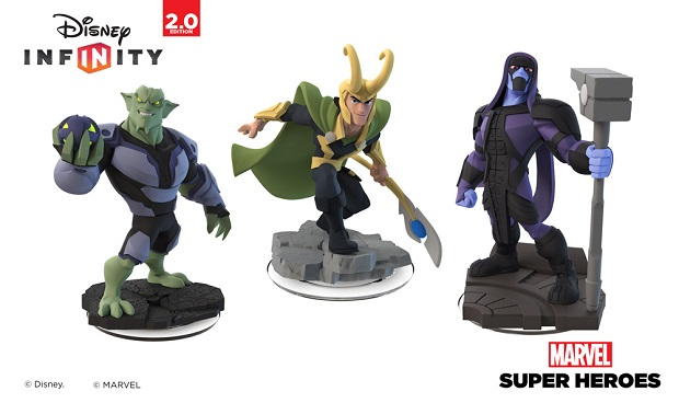 Marvel Villains Lineup Marvel Villains are Headed to Disney Infinity 2.0