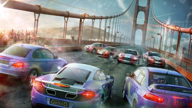 cars bridge resize Overtaking the standard  World of Speed first look