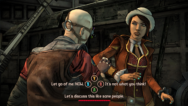 familiarGameplay Tales from the Borderlands brings Borderlands mechanics to Telltales familiar format