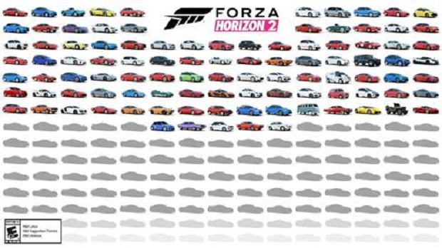 The First 100 Cars for Forza Horizon 2 Revealed