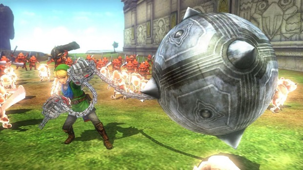 Link Wields Twilight Princess' Ball and Chain in Hyrule Warriors