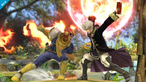 Captain Falcon, Robin and Lucina Coming to Smash Bros.
