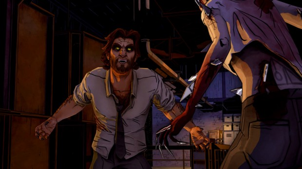 wolf3 620x348 The Wolf Among Us brings emotion, little else    The Wolf Among Us review