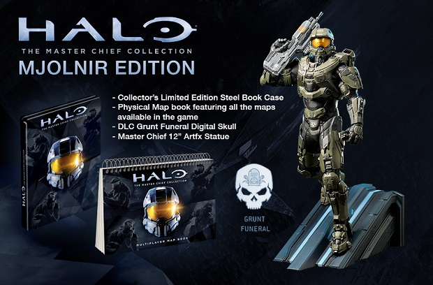 343 Reveals Master Chief Collection's Special Editions