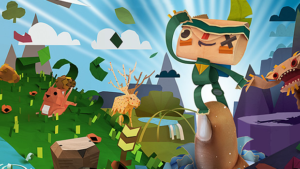 Tearaway Coming to PlayStation 4 as Tearaway: Unfolded