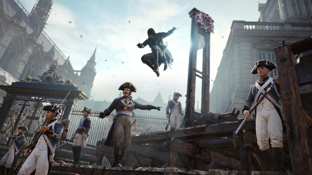 Assassins Creed Unity 04 New Demo Shows Assassins Creed Unitys Non Linearity