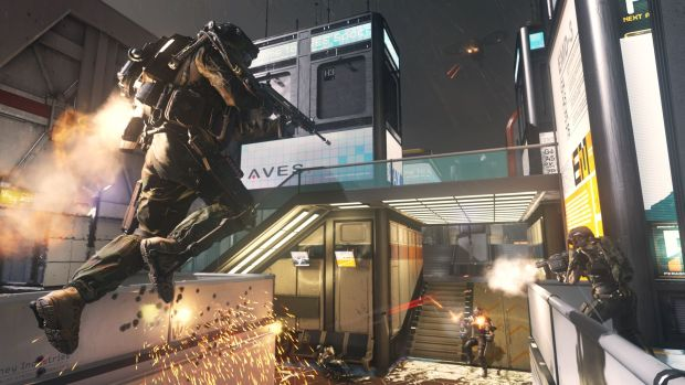 CoD AW Ascend Boost Call of Duty Advanced Warfare multiplayer reveal   its like Tribes and COD had a baby!