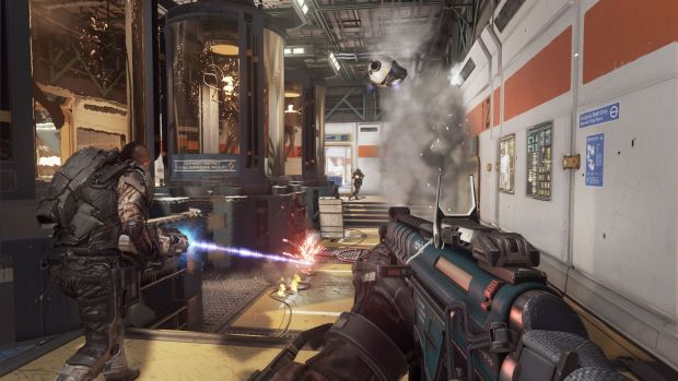 CoD AW Biolab EM1 Call of Duty Advanced Warfare multiplayer reveal   its like Tribes and COD had a baby!
