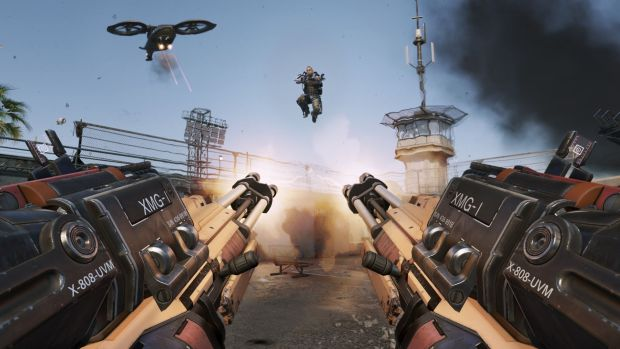 CoD AW Riot Gun Blazing Call of Duty Advanced Warfare multiplayer reveal   its like Tribes and COD had a baby!