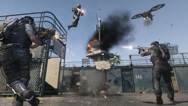 CoD AW Riot Slam Dunk Call of Duty Advanced Warfare multiplayer reveal   its like Tribes and COD had a baby!