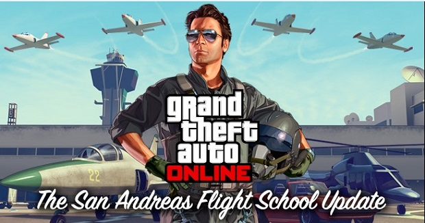 GTAO The San Andreas Flight School Update