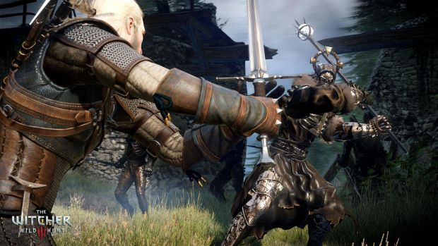 The Witcher 3 05 Watch as the voice of Geralt saves the SDCC Witcher 3 demo