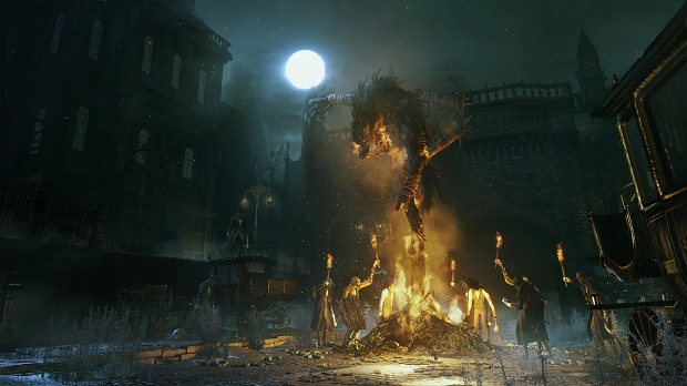 First Public Bloodborne Gameplay Revealed at Gamescom