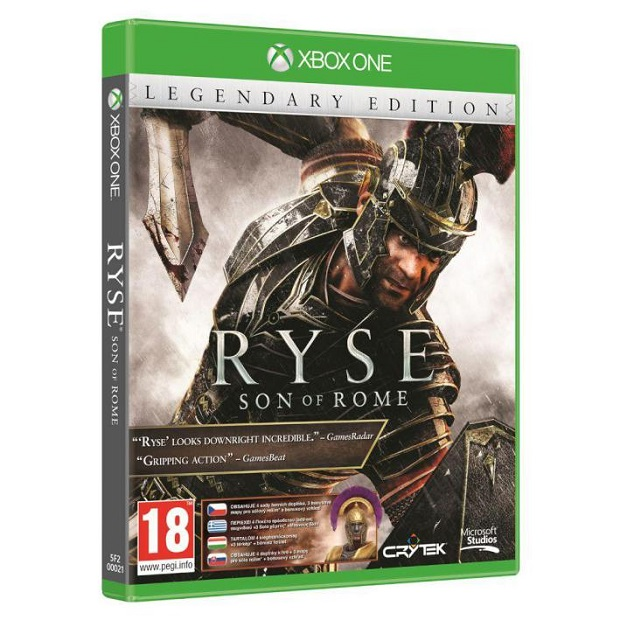 Ryse: Son of Rome Legendary Edition Appears to Have Leaked