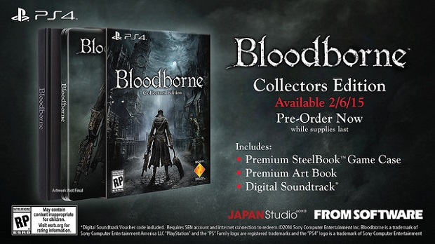 Bloodborne Gets Western Release Date, Collector's Edition Details