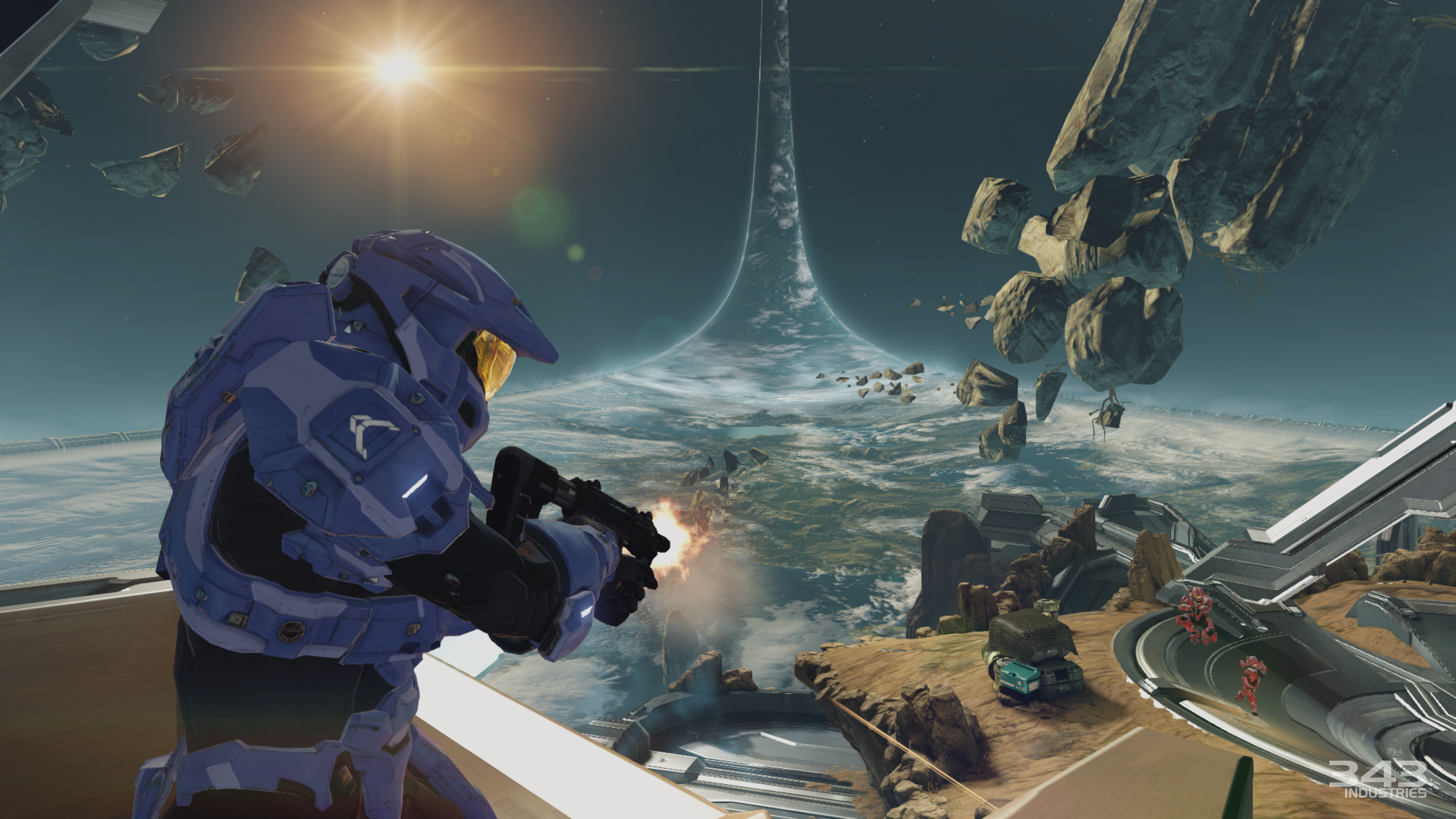 Press-Tour-2014-Halo-2-Anniversary-Ascension-Suppressing-Fire