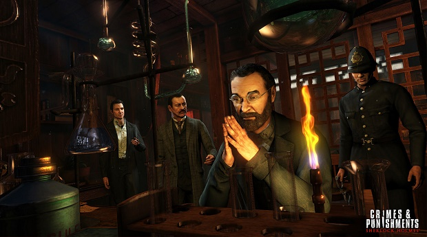 You'll interrogate a wide variety of suspects with a range of plausible motives