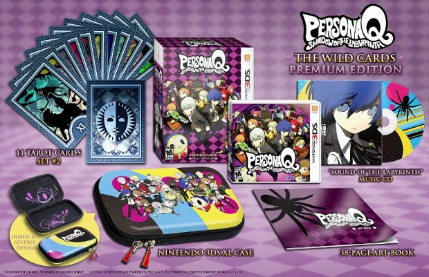 Persona Q Premium Edition Packing Revealed Alongside Character Trailers