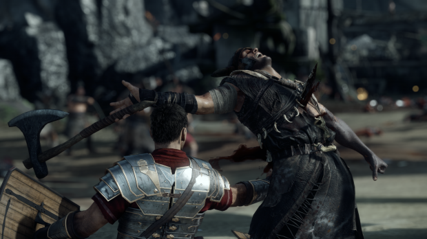 Executions are visceral, but also constitute most of the game's combat options
