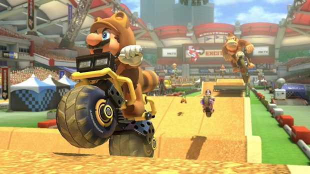 Mario Kart 8 Pays Tribute to Excitebike in First DLC Pack