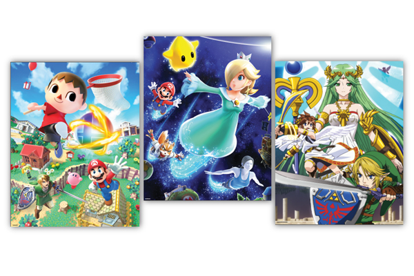 Nintendo Releasing Smash Bros. Art for Club Nintendo Members