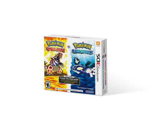 Pokemon Omega Ruby and Alpha Sapphire Being Released as a Dual Pack