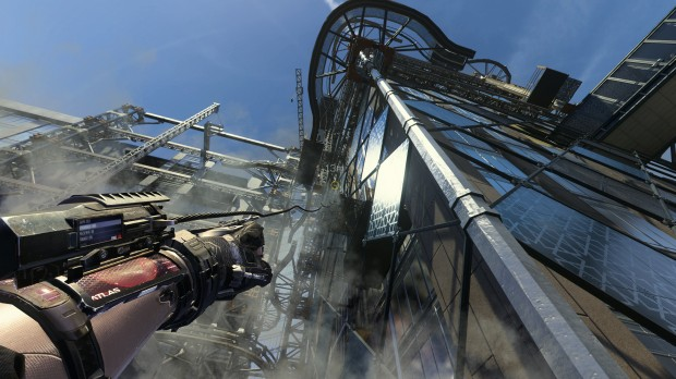 The grapple add-on gives the player a variety of options in the later missions of the campaign.