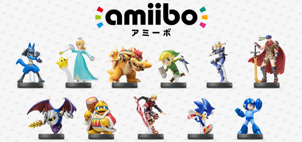 Nintendo Announces Third Wave of Amiibo Figures for 2015