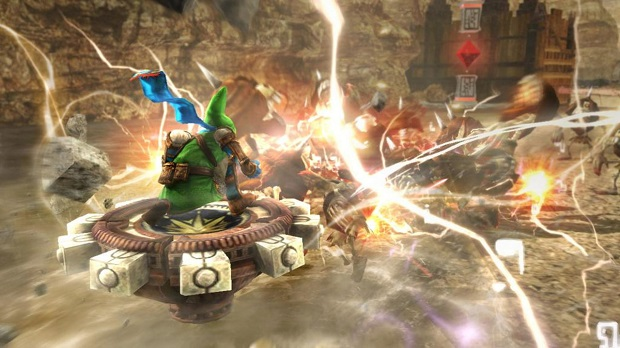 Link Amiibo Unlocks the Spinner in Hyrule Warriors