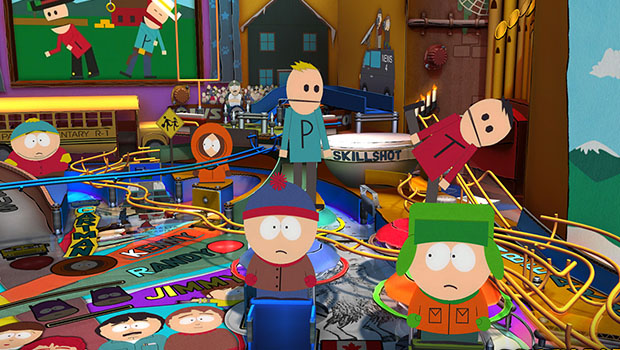 south park pinball review image 1