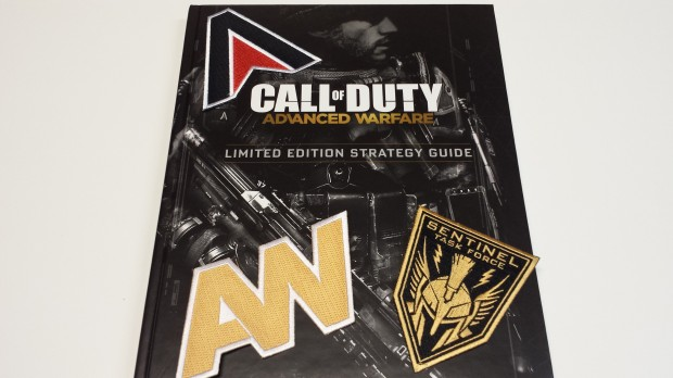The hardbound cover for the limited edition is really well done, and the patches are a nice touch.
