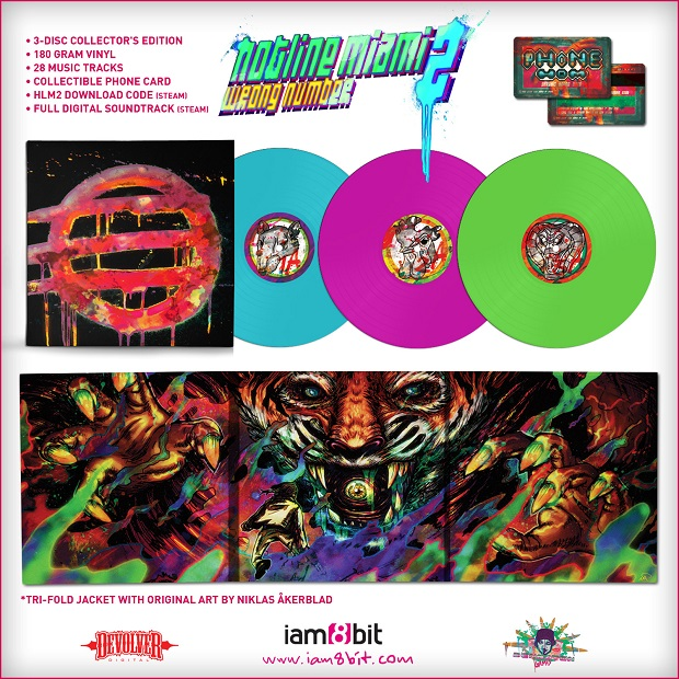 Hotline Miami 2 Gets Vinyl Collector's Edition