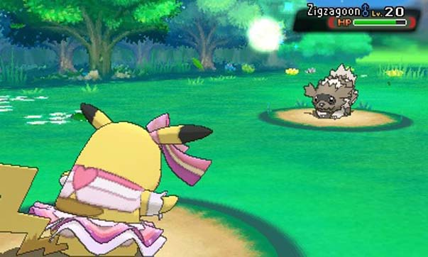 The 3D battles are a big change from the original's style, but are nothing new to those who've played X & Y.